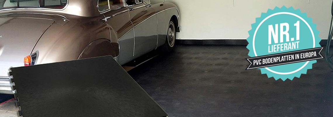 Einen Bodenbelag für die Garage ganz einfach selber verlegen!