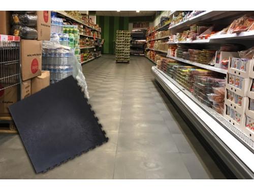 Bodenbeläge für Supermarkt und Ladenbau
