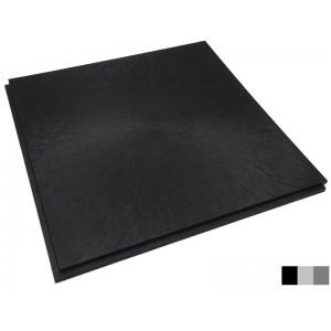 Gastronomieboden Flieslinienstruktur schwarz 10 mm