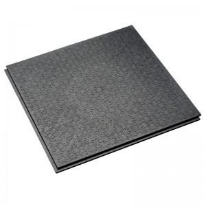 Großküchenboden-Stufenfalzfliese 10 mm-R13-V6-anthrazit