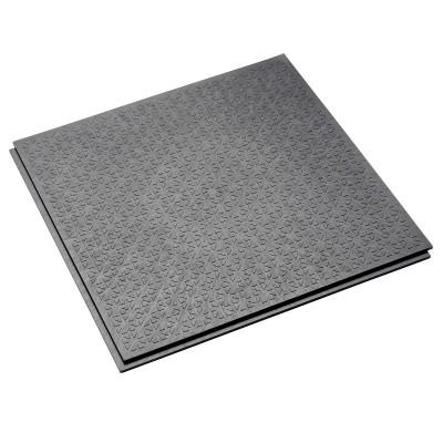 Großküchenboden-Stufenfalzfliese 10 mm-R13-V6-grau