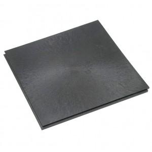 Großküchenboden-Stufenfalzfliese 10 mm-anthrazit