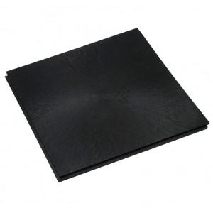 Großküchenboden-Stufenfalzfliese 10 mm-schwarz