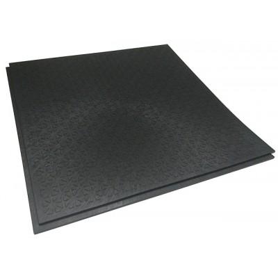 Großküchenboden-Stufenfalzfliese 10 mm-R13-V6-schwarz