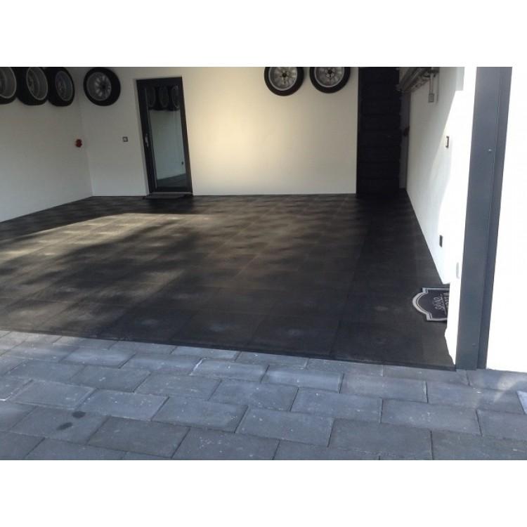 garagenboden garagenbodensanierungen mit 10 mm pvc klickfliesen schnell einfach g nstig. Black Bedroom Furniture Sets. Home Design Ideas