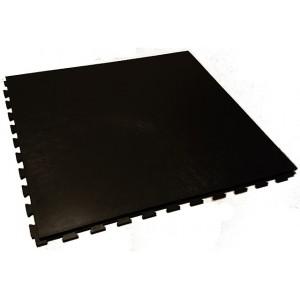 Industrieboden Klickfliese Flieslinienstruktur schwarz  10 mm