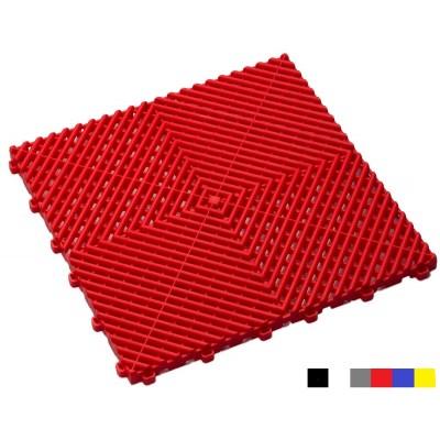 Garagenboden BoDeck 18 mm rot