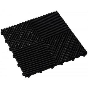 Garagenfliese für den Auto-und Motorsport Liebhaber-schwarz