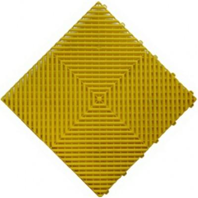 Messeboden offen gelb