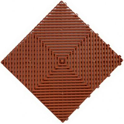 Messeboden offen terracotta