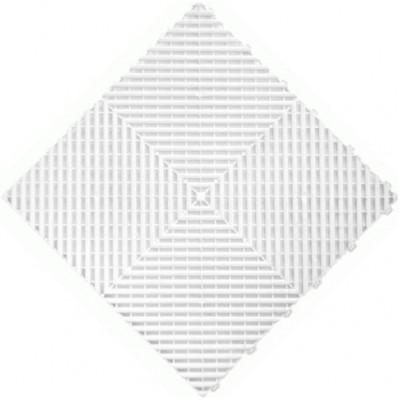 Messeboden offen weiß