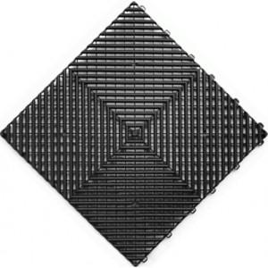 Messeboden offen schwarz