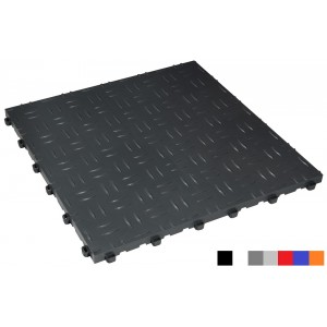 Garagenboden BoDiamond 18 mm dunkel-grau