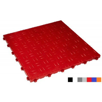 Garagenboden BoDiamond 18 mm rot