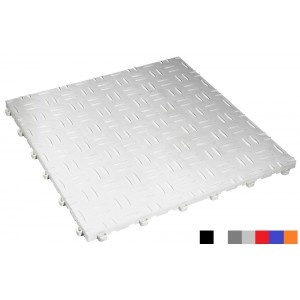 Messeboden BoDiamond 18 mm weiß