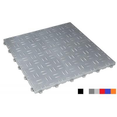 Fitnessboden BoDiamond 18 mm silber