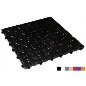 Fitnessboden BoDiamond 18 mm schwarz