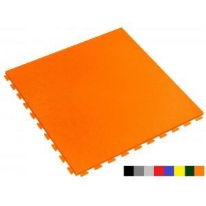 Fitnessboden wasserdicht orange 7 mm