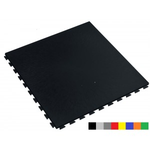 Industrieboden Klickfliese wasserdicht schwarz 7 mm