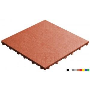 Garagenboden BoPelle 18 mm terracotta