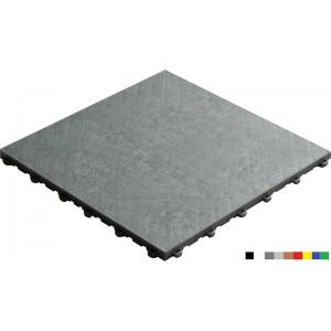 Garagenboden BoPelle 18 mm alu-weiss