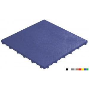 Messeboden mit Lederoptik 18 mm blau