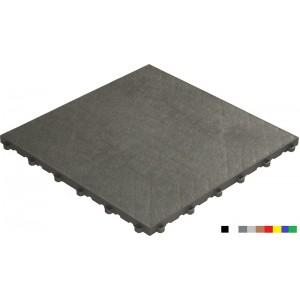 Messeboden mit Lederoptik 18 mm grau