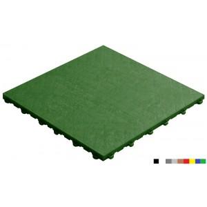 Messeboden mit Lederoptik 18 mm grün
