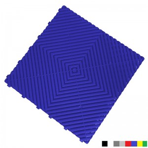 Garagenboden BoPlano 18 mm blau