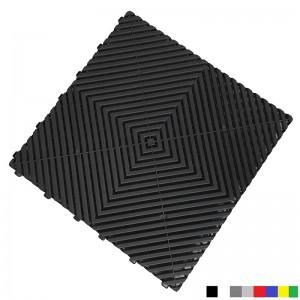 Garagenboden BoPlano 18 mm schwarz