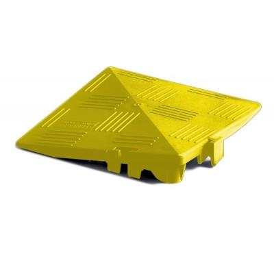 Abschlusskante-Eckteil für Bodenrost BoCarre & BoFlier