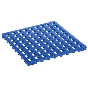 Bodenrost offen 25 mm blau