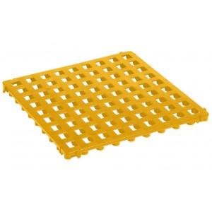 Bodenrost offen 25 mm gelb