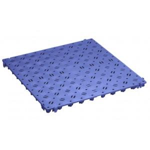 Bodenrost gelocht 25 mm blau