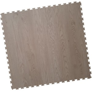 Garagenboden Klickfliese mit Holzoptik