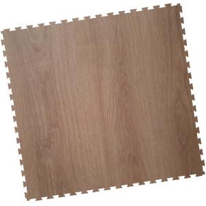 Gewerbeboden-PVC Klickfliese-mit Holzlook