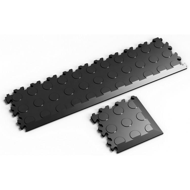 anfahrrampen und sockelleisten f r pvc platten einen garagenboden schnell selber verlegen. Black Bedroom Furniture Sets. Home Design Ideas