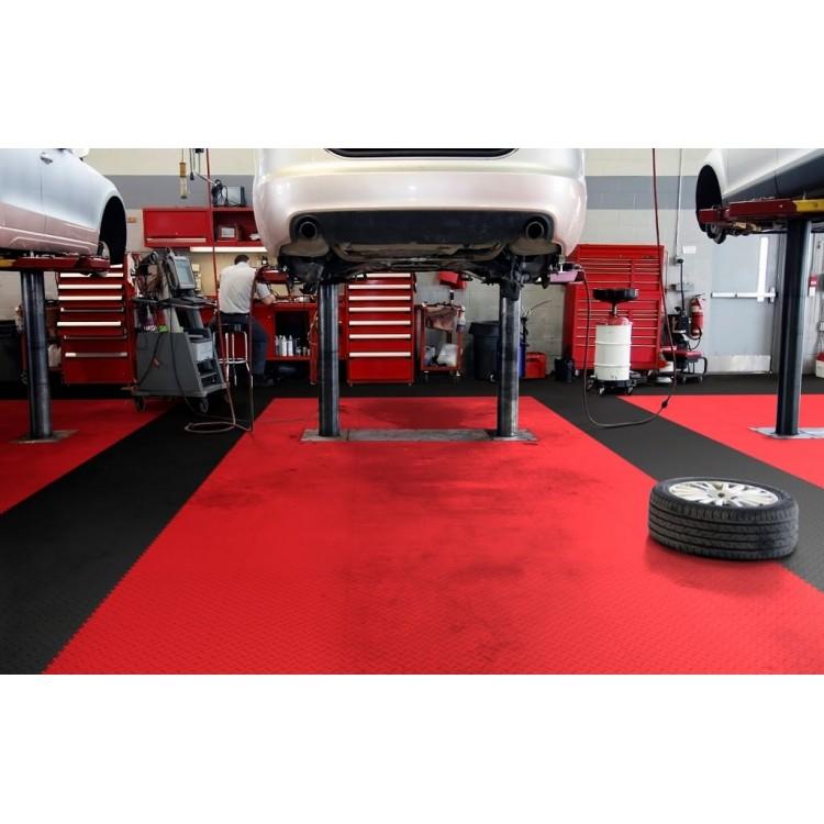 einen neuen garagenboden schnell und einfach selber verlegen mit fortelock 2020 garagenfliesen. Black Bedroom Furniture Sets. Home Design Ideas
