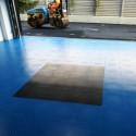 Garagenbodenfliese Fortelock INDUSTRY 2020 Orangenhaut grau
