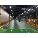 Industrieboden-PVC Klickfliese gekornt-7mm-dunkelgrau