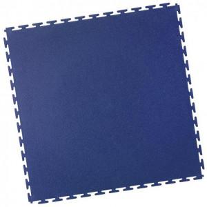 Werkstattboden-PVC Industrie Klickfliese-gekornt-blau