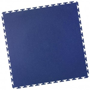 Industrieboden-PVC Klickfliese gekornt-7mm-blau