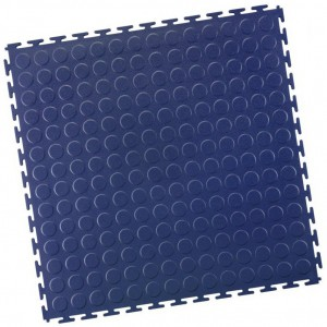 Industrieboden-PVC klickfliese Noppen-7mm-blau