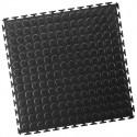 Industrieboden-PVC klickfliese Noppen-7mm-schwarz