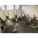 Fitnessboden BoSiwent Design Klickfliese 914x914 mm beige