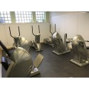 Fitnessboden BoSiwent Design Klickfliese 914x914 mm dunkel-grau