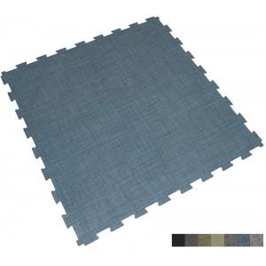 Gewerbeboden BoSiwent Klickfliese Großformat 914x914 mm blau
