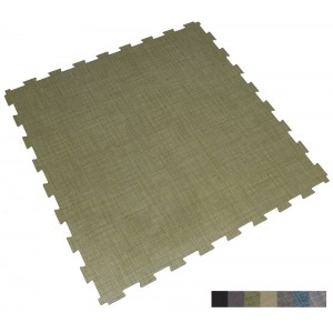 Gewerbeboden BoSiwent Klickfliese Großformat 914x914 mm grün