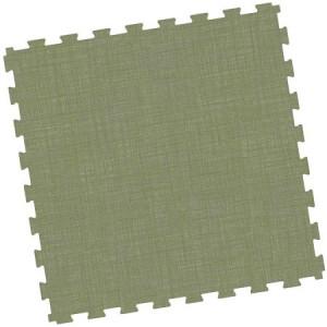 Messeboden Designfliese; Großformat 914x914 mm, grün